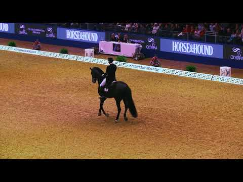 FEI World CupTM Dressage Grand Prix: Winning Interview with Edward Gal (NED)