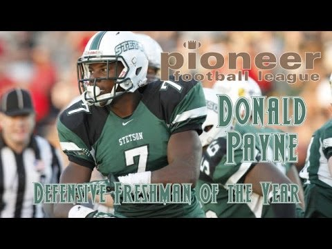 "Donald Payne #7 ""Freshman of the Year"" Stetson Football 2013 Highlights"