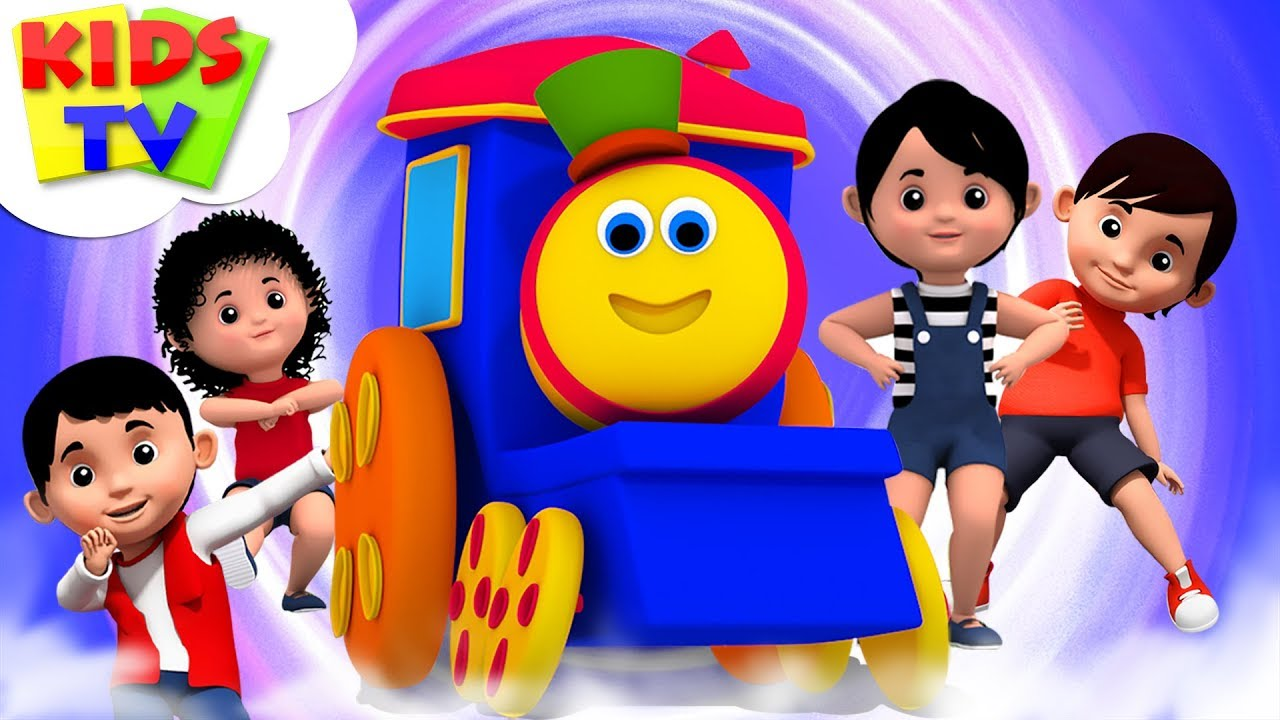Popular Nursery Rhymes Collection For Babies | Bob The Train | Childrens Music & Cartoons - Kids TV