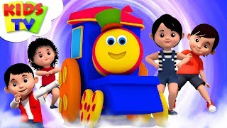 Popular Nursery Rhymes Collection For Babies   Bob The Train   Children's Music & Cartoons - Kids TV
