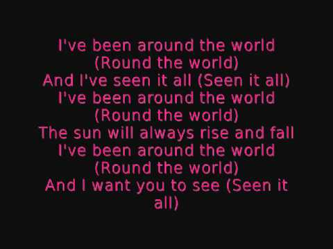 Aqua  around the world lyrics