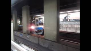 福岡市営地下鉄n1000系07編成 大濠公園駅を発車