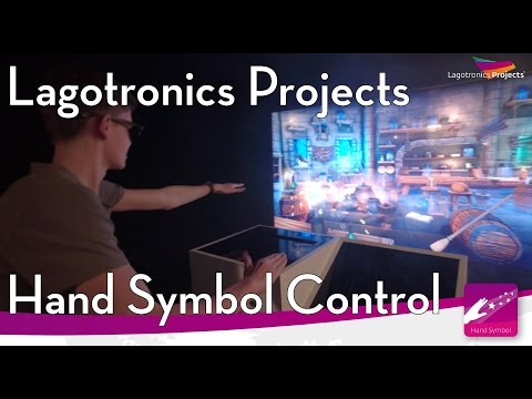 Multi-Media Attractions- Hand Symbol Control Interactive Device, Lagotronics Projects