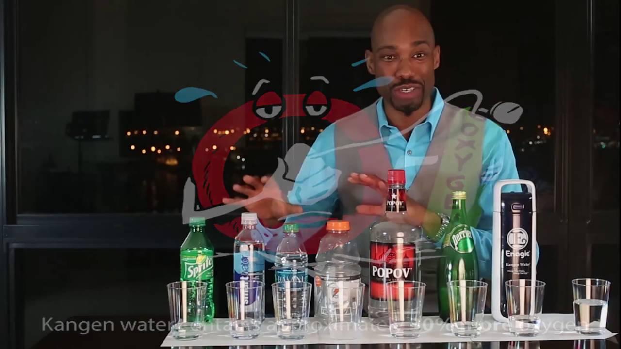 Dr. Lucas Explains The Power of Hydroxyl In Kangen Water vs. Bottled Water