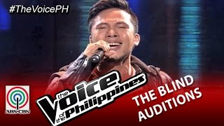 "The Voice of the Philippines Blind Audition ""Luha"" by Poppert (Season 2)"