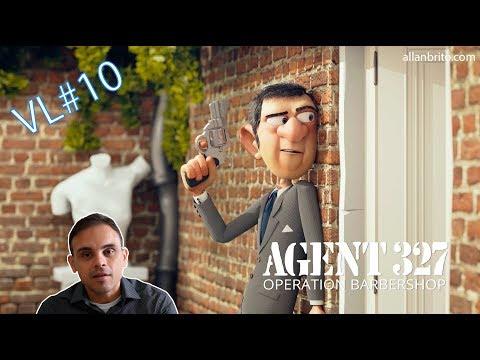 Agent 327  Animação criada com Blender 10
