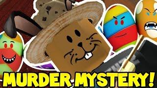 EASTER EGG HUNTING en ROBLOX MURDER MYSTERY 2