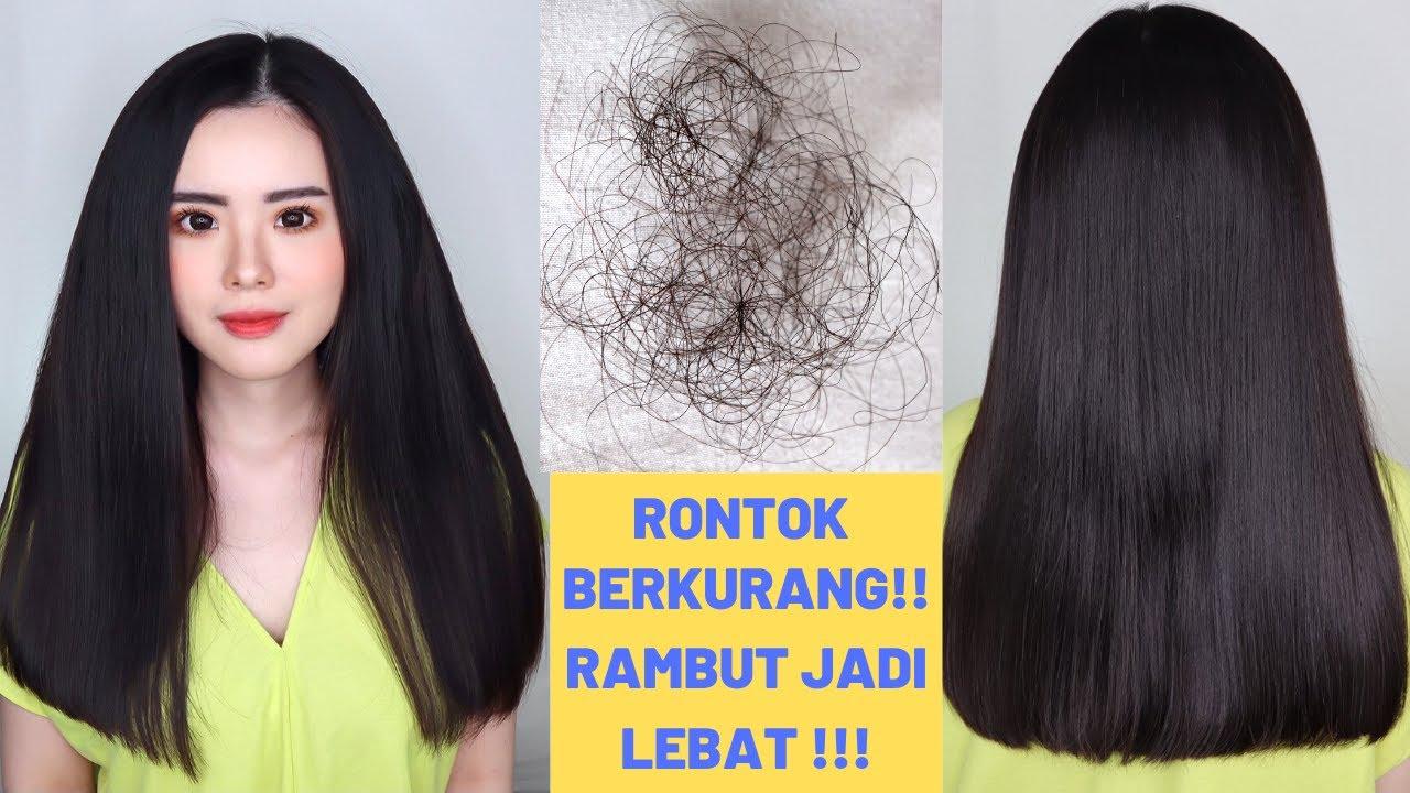 9 Cara Mengurangi Rambut Rontok Dan Melebatkan Rambut Hanya Dalam 1 Bulan Youtube