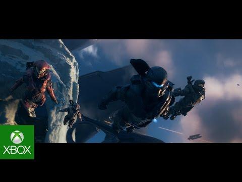 Компания Microsoft опубликовала эпичный трейлер из игры Halo 5: Guardians