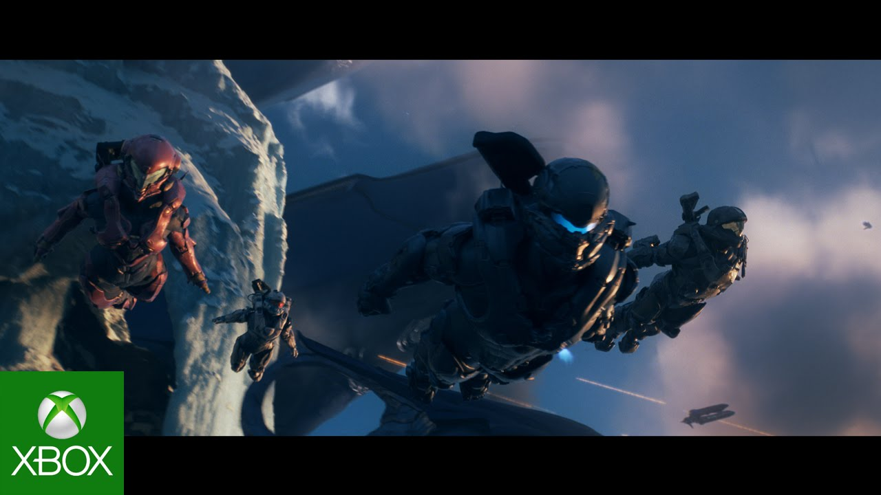 Halo Wallpaper Fall Of Reach Halo 5 Opening Cinematic Youtube