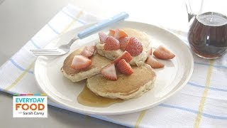Cinnamon-oat Pancakes - Everyday Food With Sarah Carey