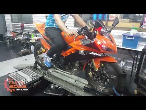 Yamaha YZF R15 Turbo 150cc: ผลงานการเซตเทอร์โบของรถ Yamaha YZF R15 150cc โดยสัมพันธ์ยนต์ และ โจ้ โม แก๊ส