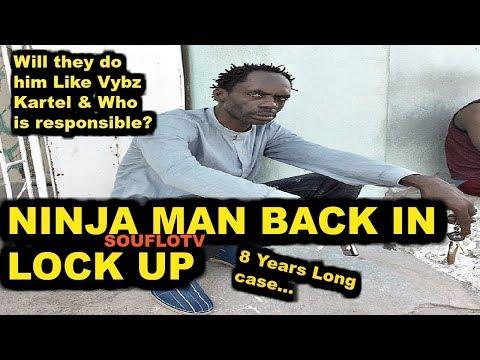 Ninja Man back in Lock up
