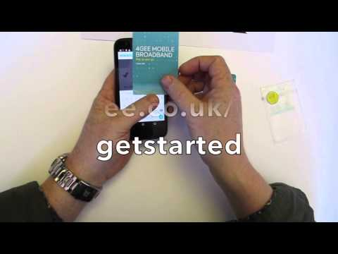 How To Install An EE 6GB SIM; MOBILE GENIUS