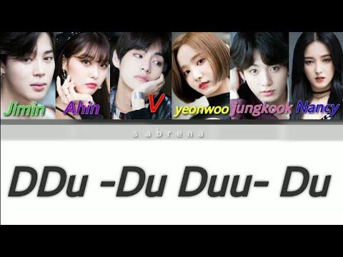 How would momoland & bts sing DDU-DU DDU-DU lyrics - YouTube