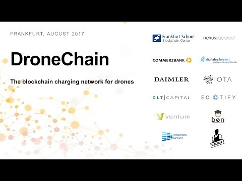 DroneChain - The blockchain charging network for drones