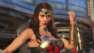 Injustice 2 | Wonder Woman reveal | PS4