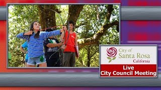 City of Santa Rosa Council Meeting July 9 2019