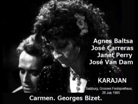 Carmen. Georges Bizet. Karajan.
