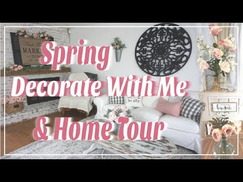 Spring Decorate With Me | Spring Farmhouse Home Tour | Momma From Scratch