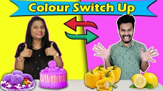 Colour Food Switch Up Challenge | Hungry Birds