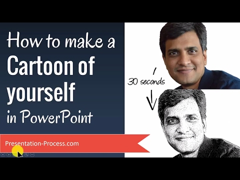 How To Make A Cartoon Of Yourself In PowerPoint