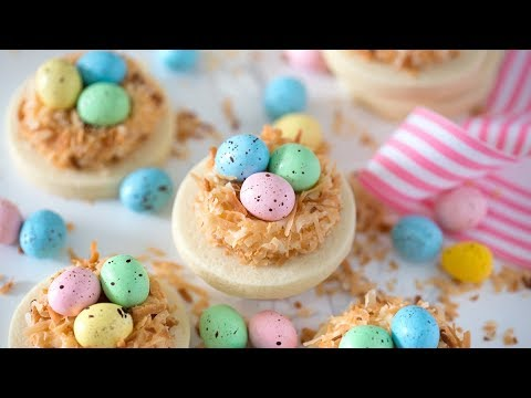 How To Make Easter Cookies Youtube