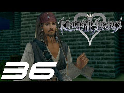 Kingdom Hearts 2.5 HD Remix Walkthrough Part 36 - Jack Sparrow & Cursed Medallions
