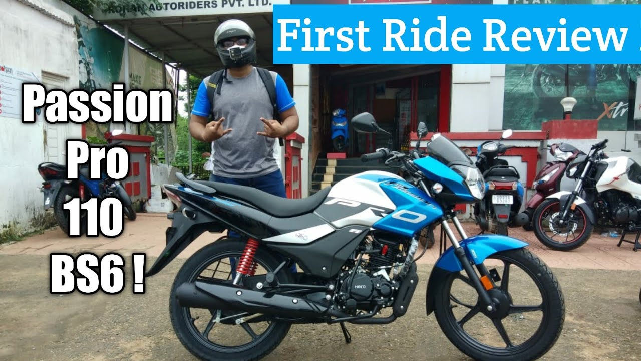 Hero Passion Pro 110 BS6 Ride Review | Binod !