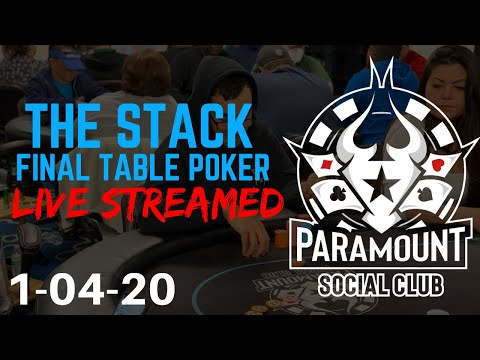 PSC Poker TV: January 2020 The STACK TOURNAMENT~ Final Table