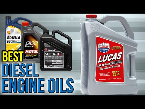 7 Best Diesel Engine Oils 2017