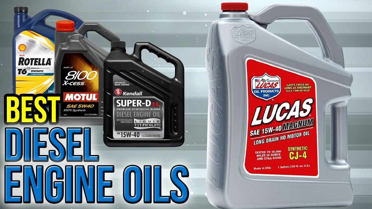 7 best diesel engine oils 2017 youtube