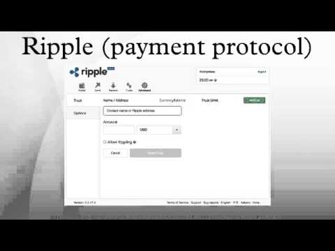 Ripple (payment protocol)