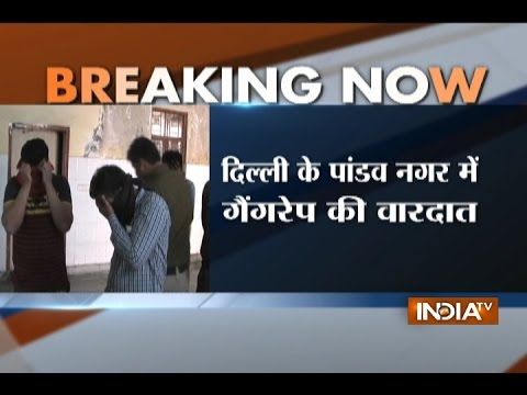 Girl jumps off from first floor of the building after being gang raped in Delhi, 5 accused arrested
