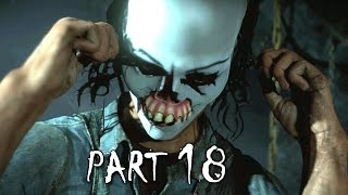 Until Dawn Walkthrough Gameplay Part 18 - Killer Revealed (PS4)