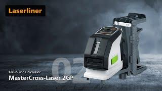Grüner Kreuzlinien-Laser - Innovation - MasterCross-Laser 2GP - 031.390A