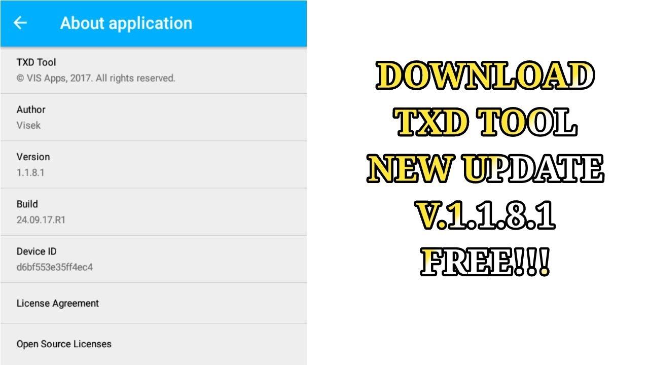 TXD 1.8.1 GRATUIT TÉLÉCHARGER