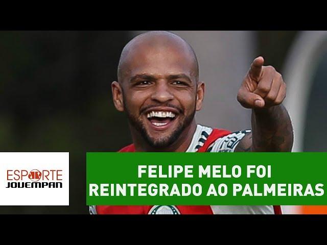 ENTENDA por que FELIPE MELO foi reintegrado ao PALMEIRAS!