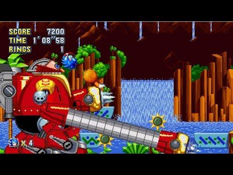 Sonic Mania Death Egg Robot From Sonic Generations Walkthrough