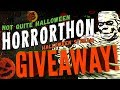 Announcing the Not Quite Halloween Horrorthon Livestream Event