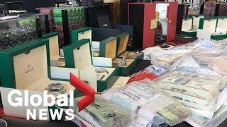 Major players in Italian crime family taken down in massive bust in Ontario