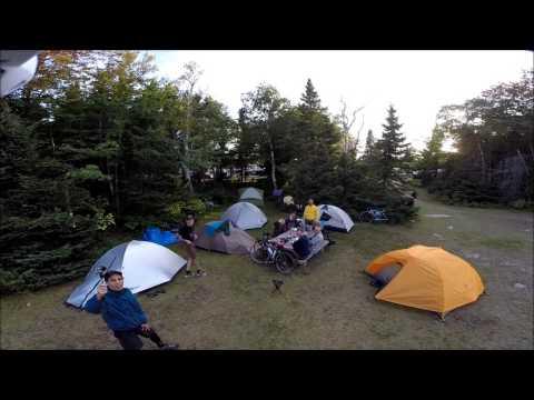 Tour De Cabot 2014 - Broadcove Campground