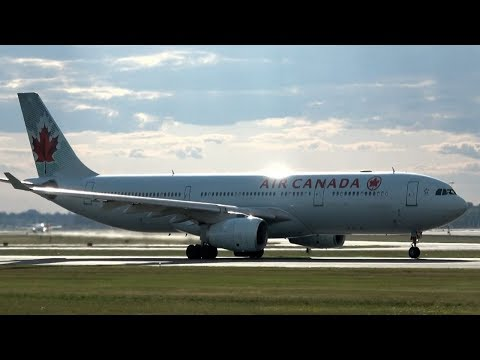 *GREAT CLIMB AC82* Takeoff AIR CANADA To TEL AVIV (Israel) From MONTREAL AIRPORT (CYUL)