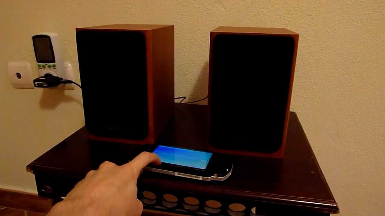 eBay mini 5V 2x3W class D audio amplifier in action (PAM8403)