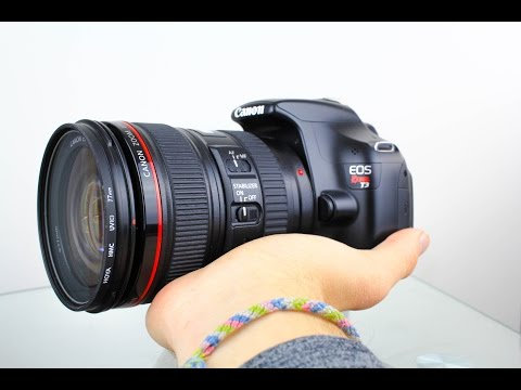 Canon EOS Rebel T3 Review - 4K