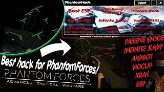 New Roblox mod menu / exploit (Phantom Forces) + Download