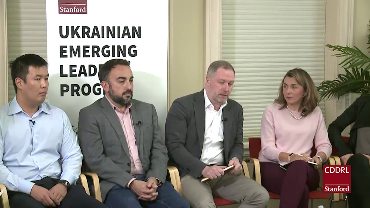 FSI | CDDRL - Ukrainian Emerging Leaders Program