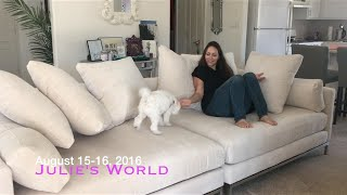 JULIES WORLD: New Couch!