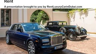 How to Choose a Luxury Car for Rent
