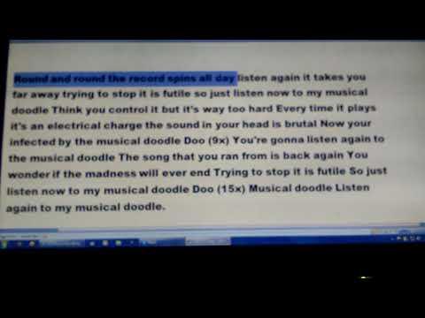 Musical doodle lyrics